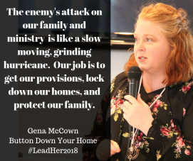 Gena McCownButton Down Your Home#LeadHer2018(4)