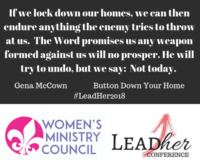 Gena McCownButton Down Your Home#LeadHer2018(5)
