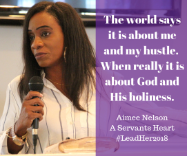 The world says it is about me and my hustle. When really it is about God and His holiness.